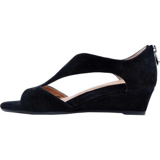 e08a2496ccd Bettye Muller Concept Women's Shaye Slip On Sandal Black Kidsuede