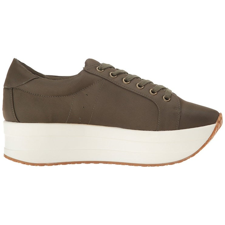 4a1b670cb83 Shop Steven by Steve Madden Womens Bab Fabric Low Top Lace Up Fashion  Sneakers - Free Shipping Today - Overstock - 21429830