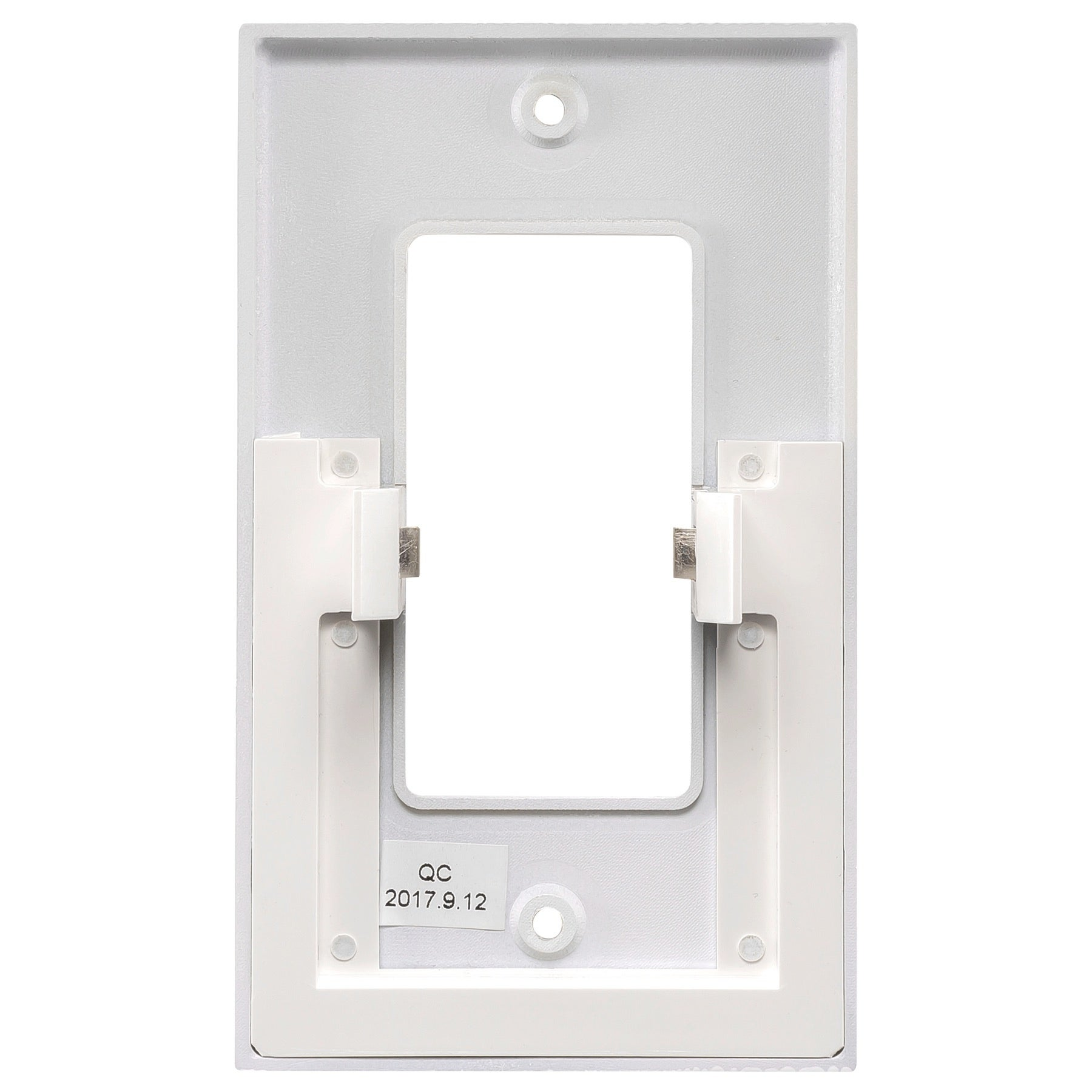 Stunning wall outlet switch images electrical circuit diagram powerglow wall outlet plate 3 led night light onoff switch white mozeypictures Choice Image