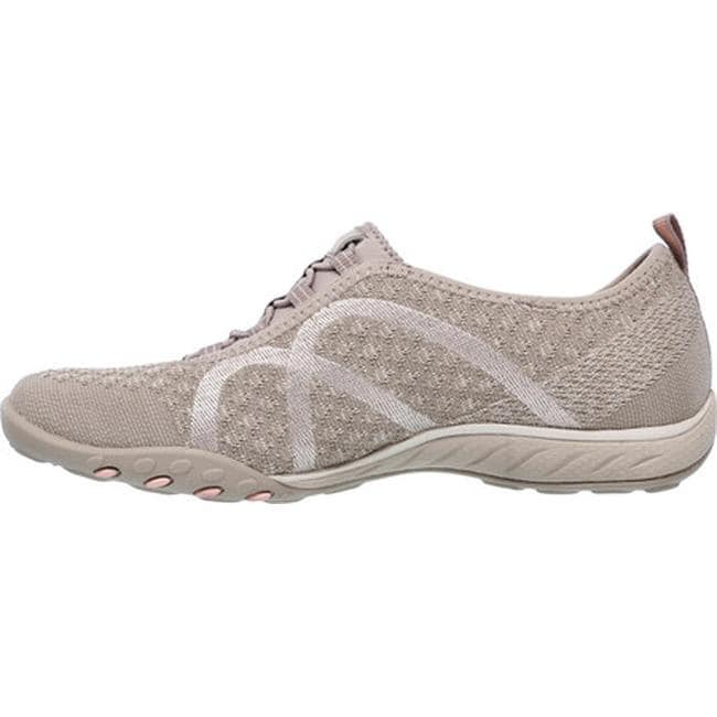 Shop Skechers Women s Relaxed Fit Breathe Easy Fortune-Knit Slip-On Taupe -  On Sale - Free Shipping Today - Overstock - 16331602 4cba0ffe0