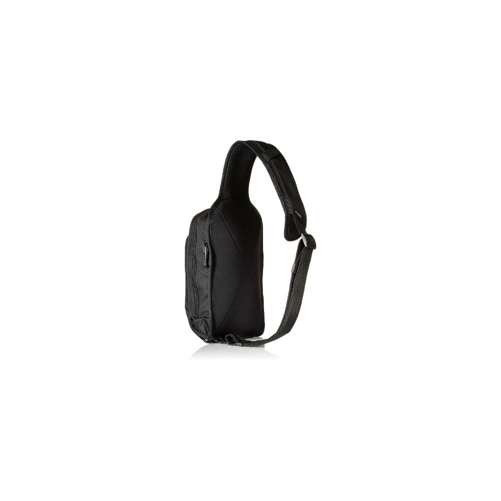 273fb6ba764e Shop Pacsafe Metrosafe LS150-Black Anti-theft Sling Backpack w  Adjustable  straps - Free Shipping Today - Overstock - 18463038