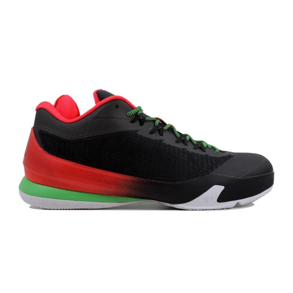 new arrival d95a2 7d416 Nike Men s Air Jordan CP3 VIII 8 Black Light Green Spark-Dark Grey-Infrared  684855-035