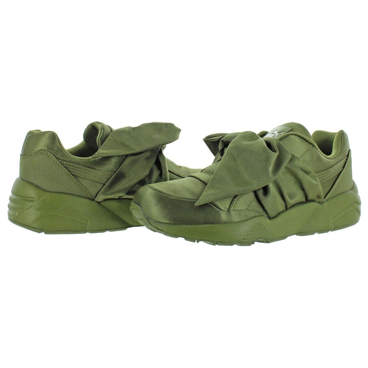best service ea5ae 337e1 Fenty Puma by Rihanna Womens Bow Sneaker Fashion Sneakers Satin Bow