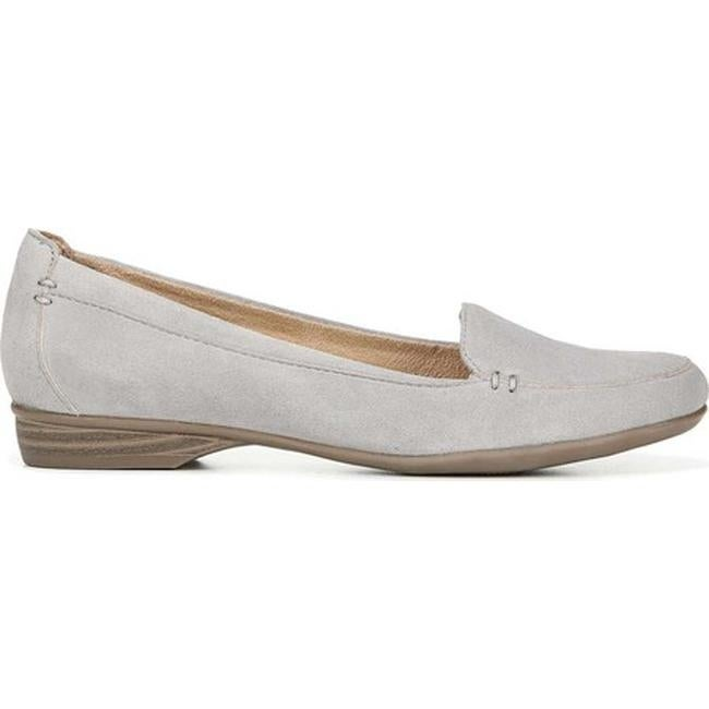 4d51124cd31 Shop Naturalizer Women s Saban Icy Grey Suede - Free Shipping Today -  Overstock - 27864777