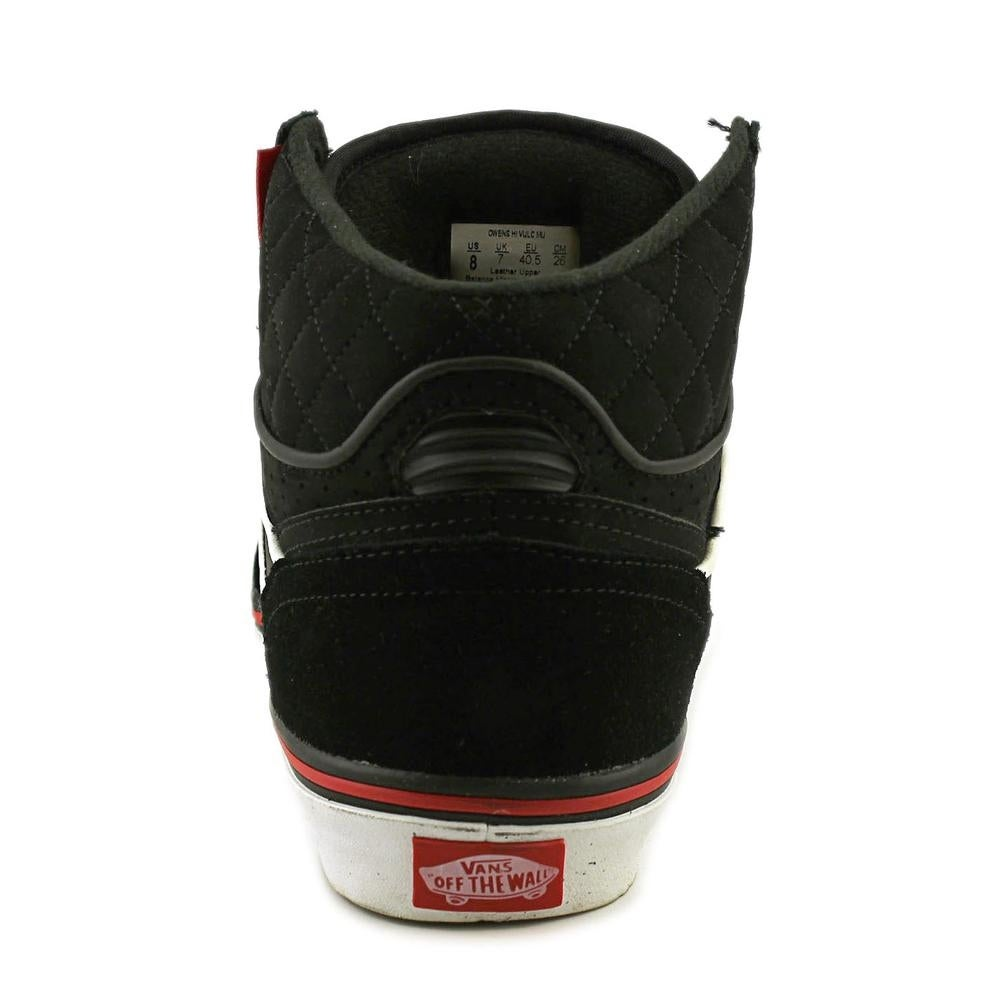 dcbfb6ddae Shop Vans Owens Hi Vulc MU Round Toe Leather Skate Shoe - Free Shipping On  Orders Over  45 - Overstock - 14347050