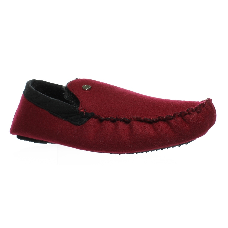 684792b878288 Shop Steve Madden Mens Pfire Red Moccasin Slippers Size 13 - Free ...