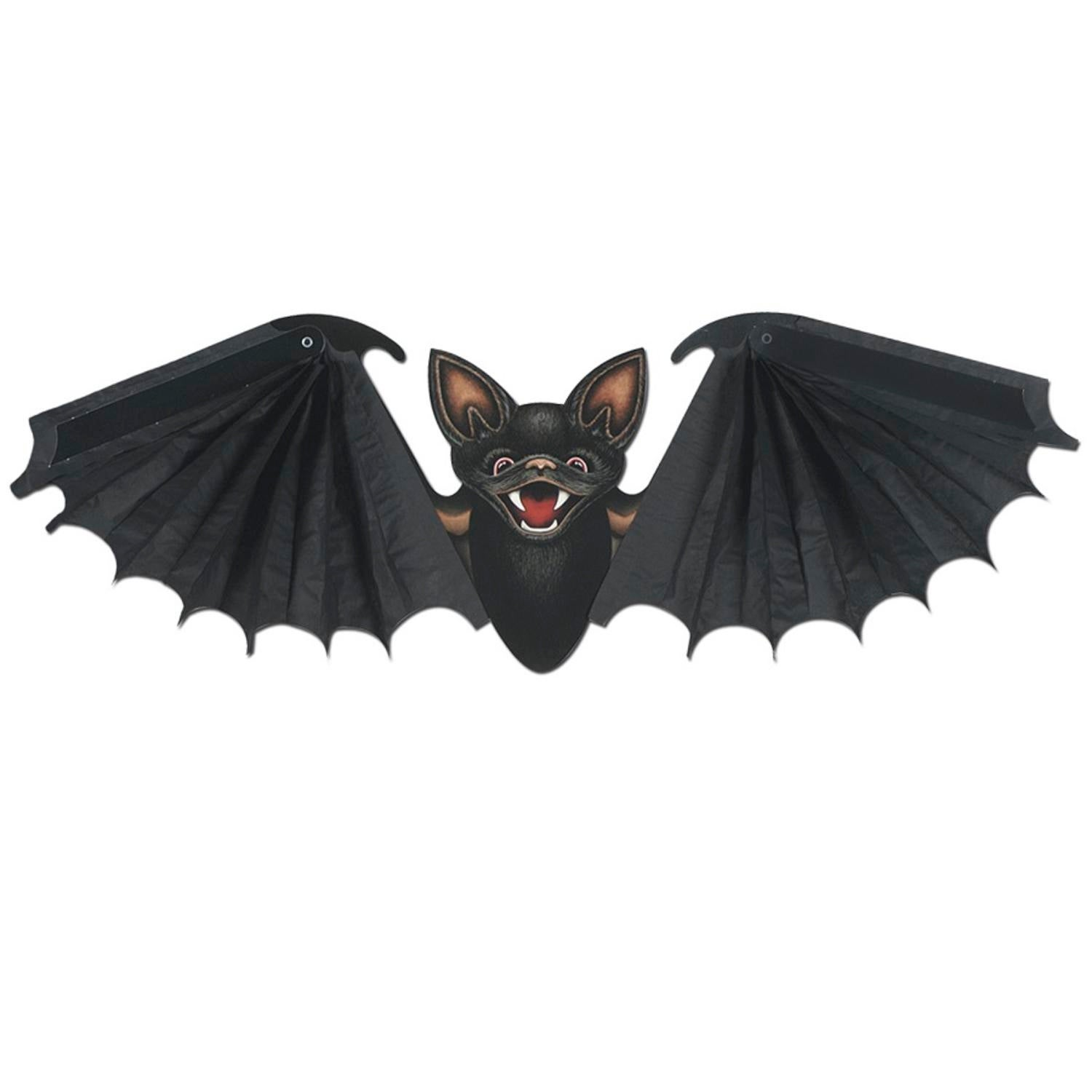shop club pack of 12 hanging black tissue bat halloween decorations