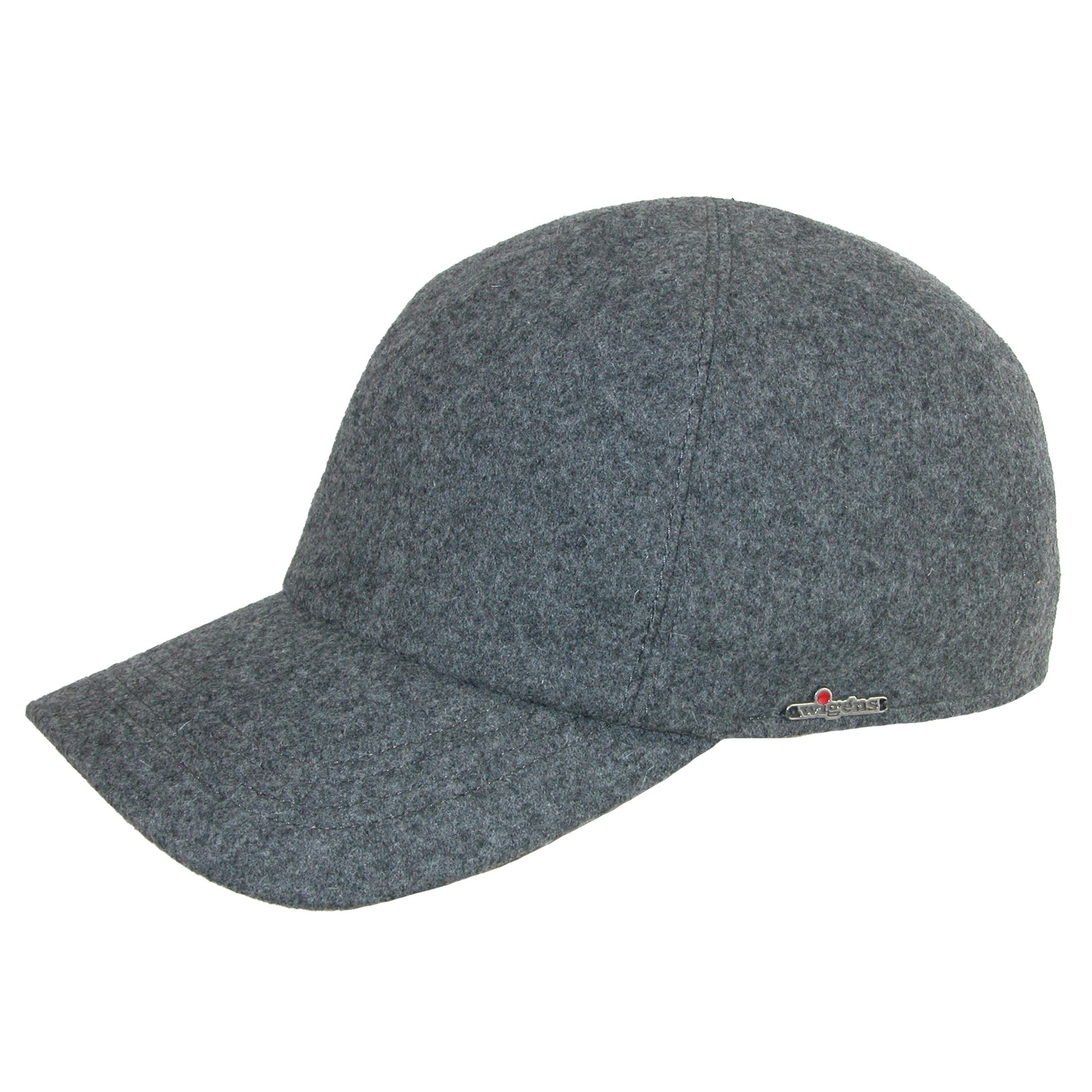 Shop Wigens Men s Wool Baseball Cap with Earflaps - Free Shipping Today -  Overstock - 14278780 e65815ea805