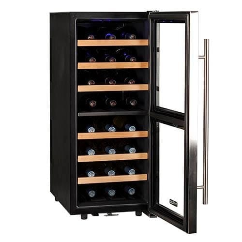 Koldfront Twr247e 14 Inch Wide 24 Bottle Wine Cooler With Dual Cooling Zones Free Shipping Today 20856781