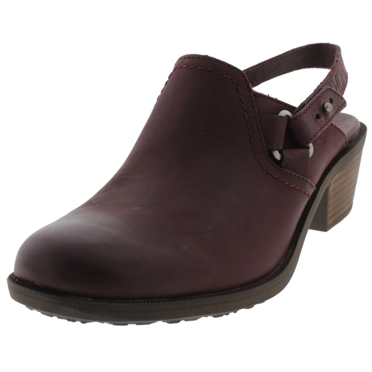 5c0ce6375fff1a Shop Teva Womens Foxy Clog Clogs Leather Slingback - Free Shipping On  Orders Over  45 - Overstock - 14518481