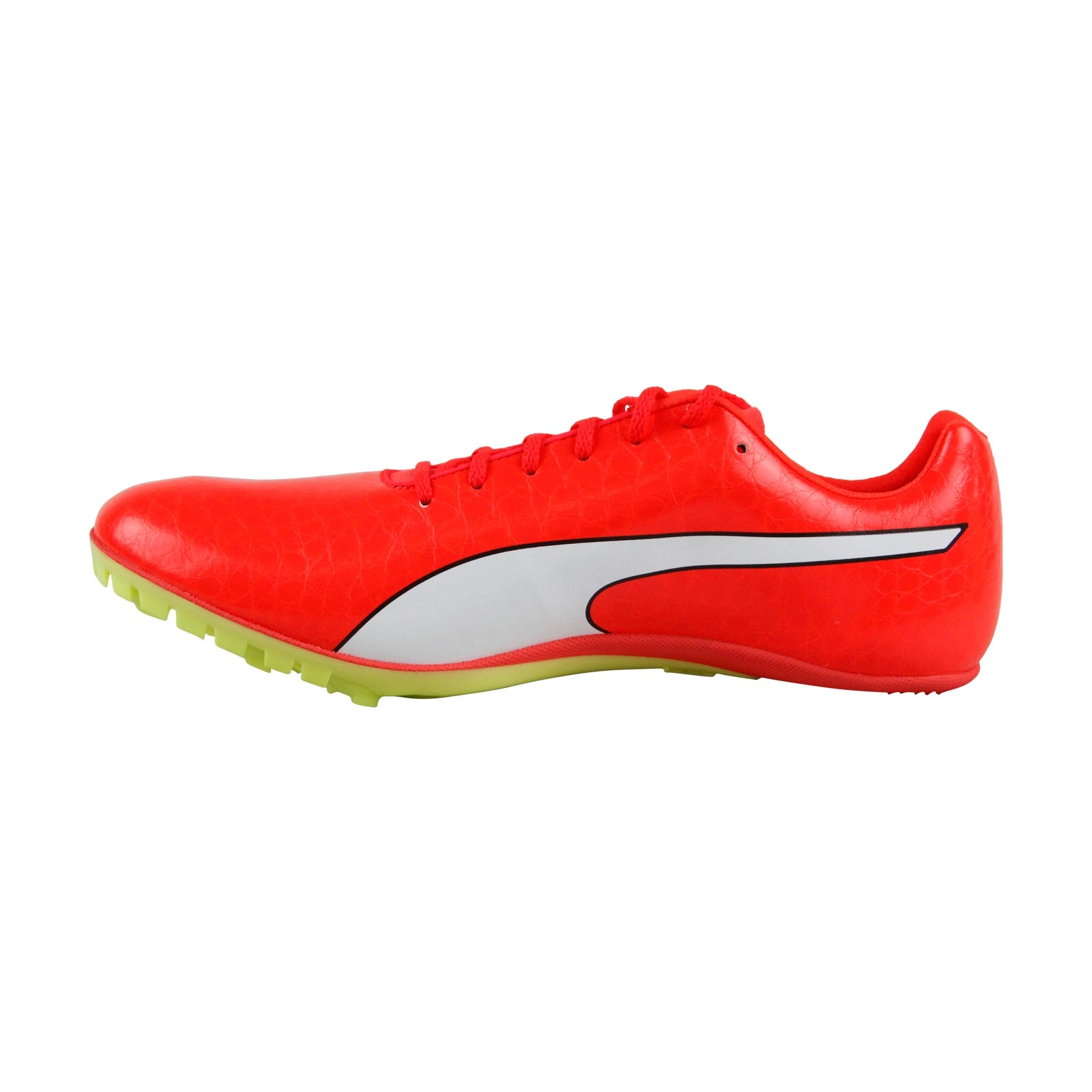 46f5f77f4bf398 Shop Puma Evospeed Sprint 8 Mens Red Leather Athletic Lace Up Running Shoes  - Free Shipping Today - Overstock - 25364958