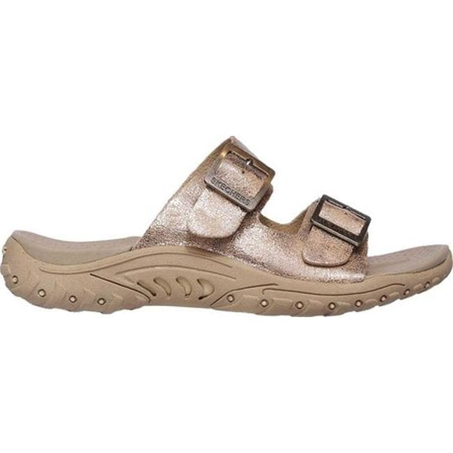 a6cdacbb0e5b Shop Skechers Women s Reggae Landscape Slide Sandal Taupe - Free Shipping  On Orders Over  45 - Overstock - 19981712