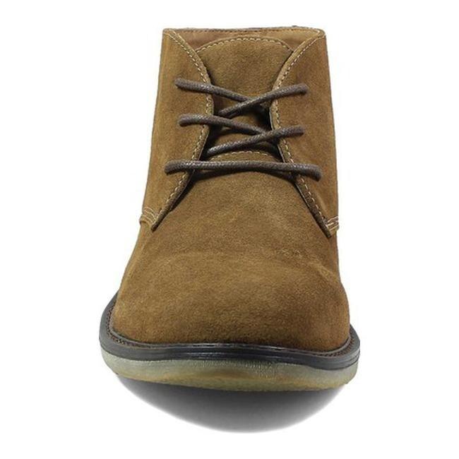 15a2fae076fed Shop Nunn Bush Men s Lancaster Chukka Boot Camel Suede - Free Shipping  Today - Overstock - 17639043