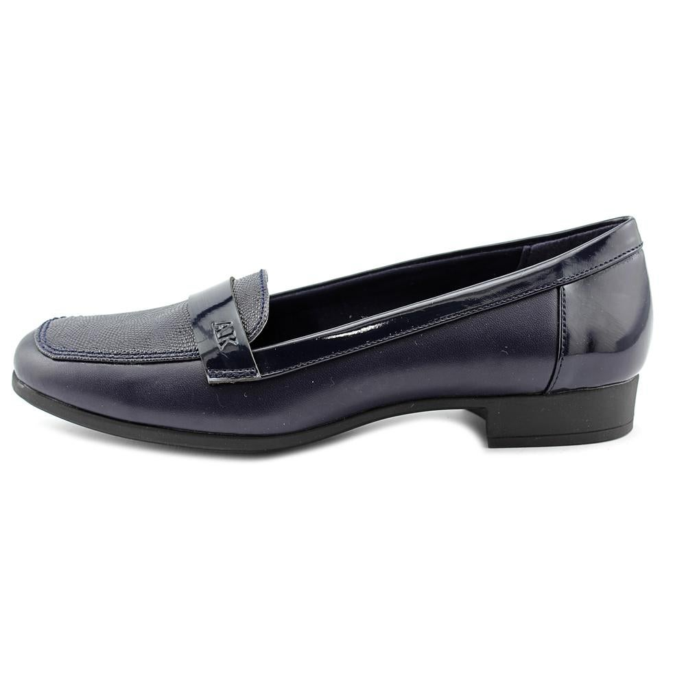 ad98ba3a8ea Shop Anne Klein AK Vittorio Women Round Toe Synthetic Blue Loafer - Free  Shipping On Orders Over  45 - Overstock - 14080227