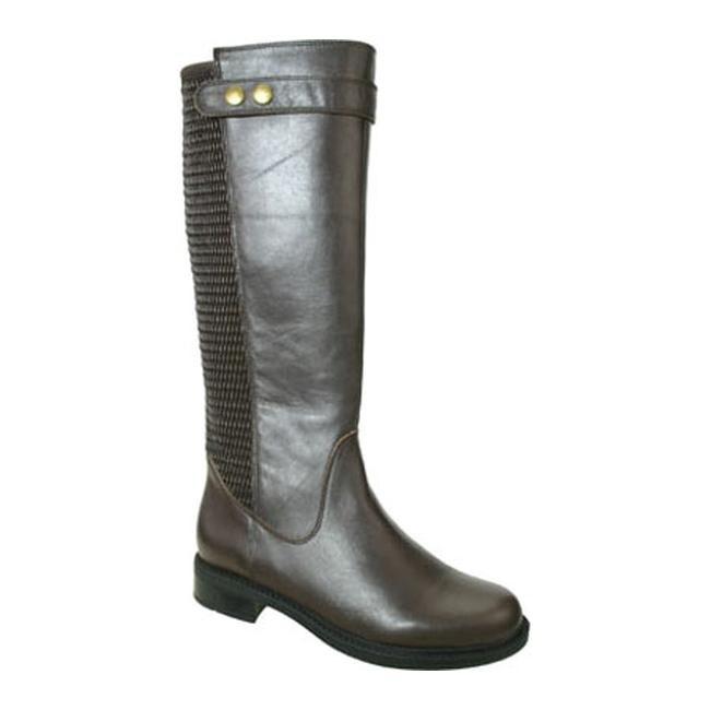 928ef80bcaf8 Shop David Tate Women s Avery 18 Wide Calf Boot Brown Calf - On Sale ...
