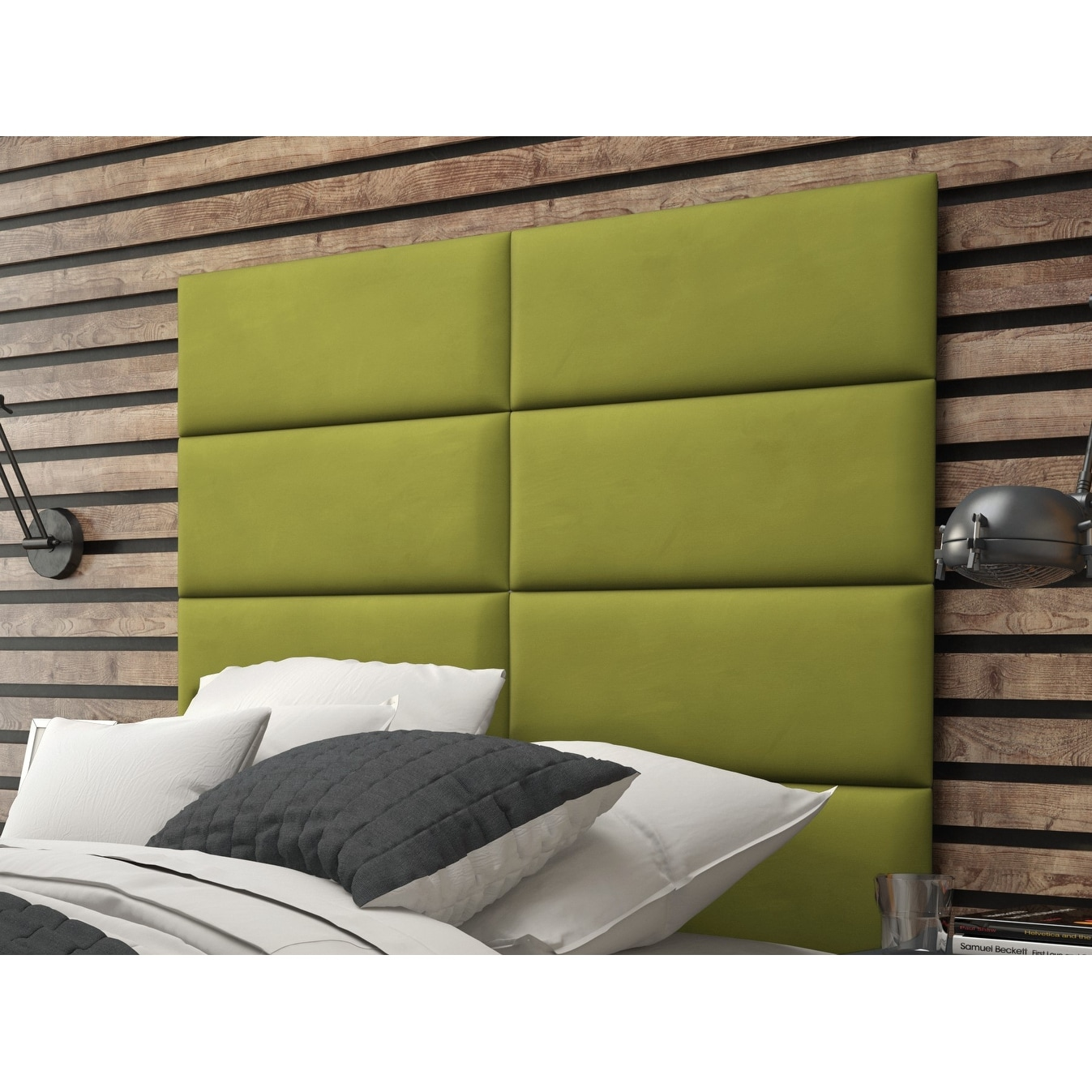 Vant Upholstered Wall Panels (Headboards) Sets of 4 - Micro Suede ...