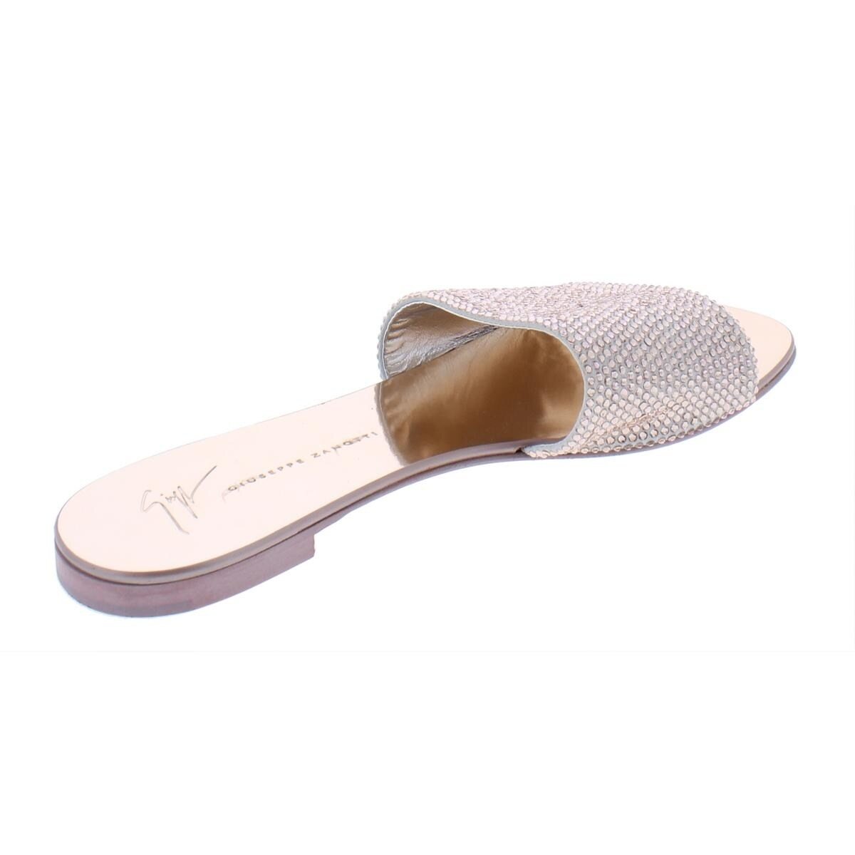 103f344a5 Shop Giuseppe Zanotti Womens Slide Sandals Leather Dressy - 39 Medium (B,M)  - Free Shipping Today - Overstock - 26419158