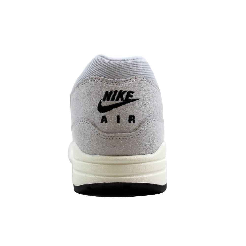 new product 275d9 6d495 Shop Nike Men s Air Max 1 Premium Pure Platinum Sail-Black 875844-006 Size  11 - Free Shipping Today - Overstock - 27339920
