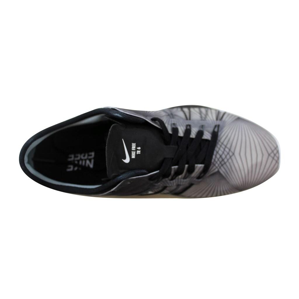 buy popular 13ff4 21bdd Shop Nike Free TR 6 Print Black White-Cool Grey 833424-005 Women s - Free  Shipping Today - Overstock - 21141835