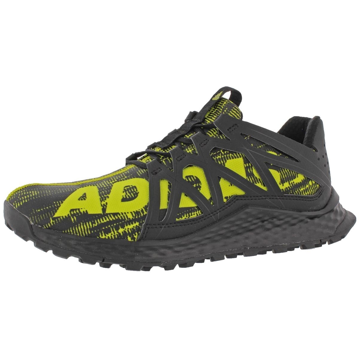 0bf37f8577f1 Shop Adidas Boys Vigor Bounce Running Shoes Padded Insole Athletic ...