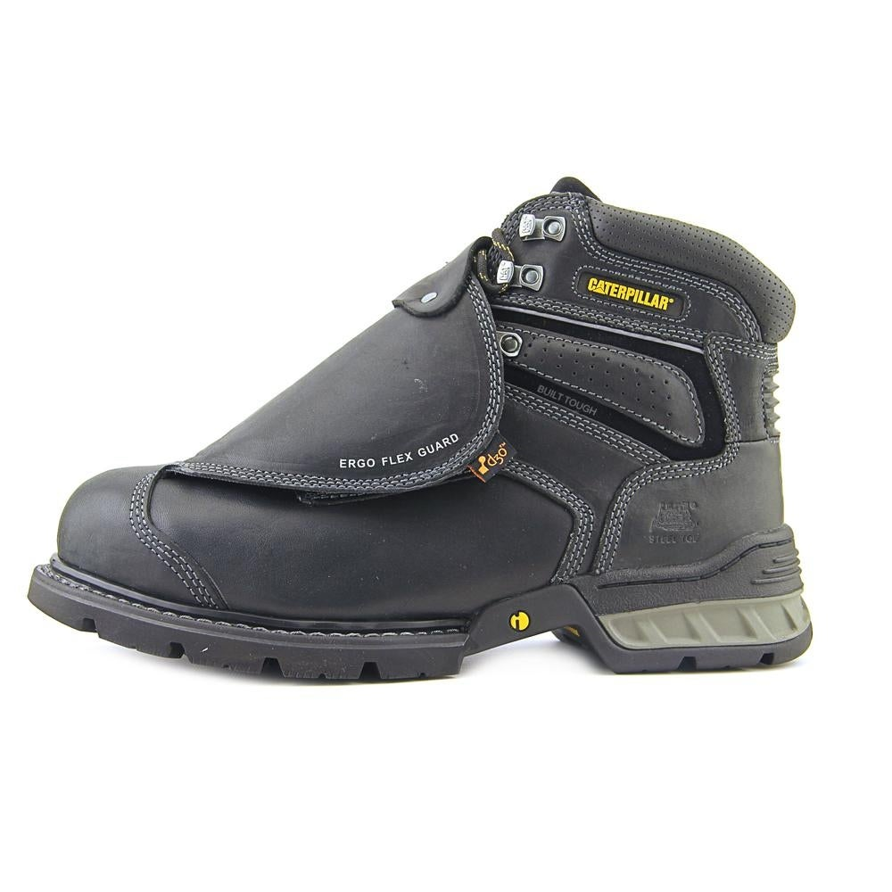 62e34cec713 Shop Caterpillar Ergo Flexguard ST Round Toe Leather Work Boot - Free  Shipping Today - Overstock - 13748417