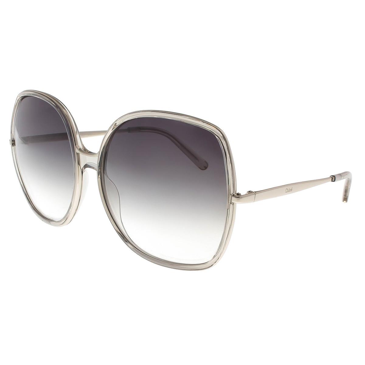 8a7880dd0c5 Shop Chloe CE725 S 272 Turtledove Square Sunglasses - 62-17-135 ...