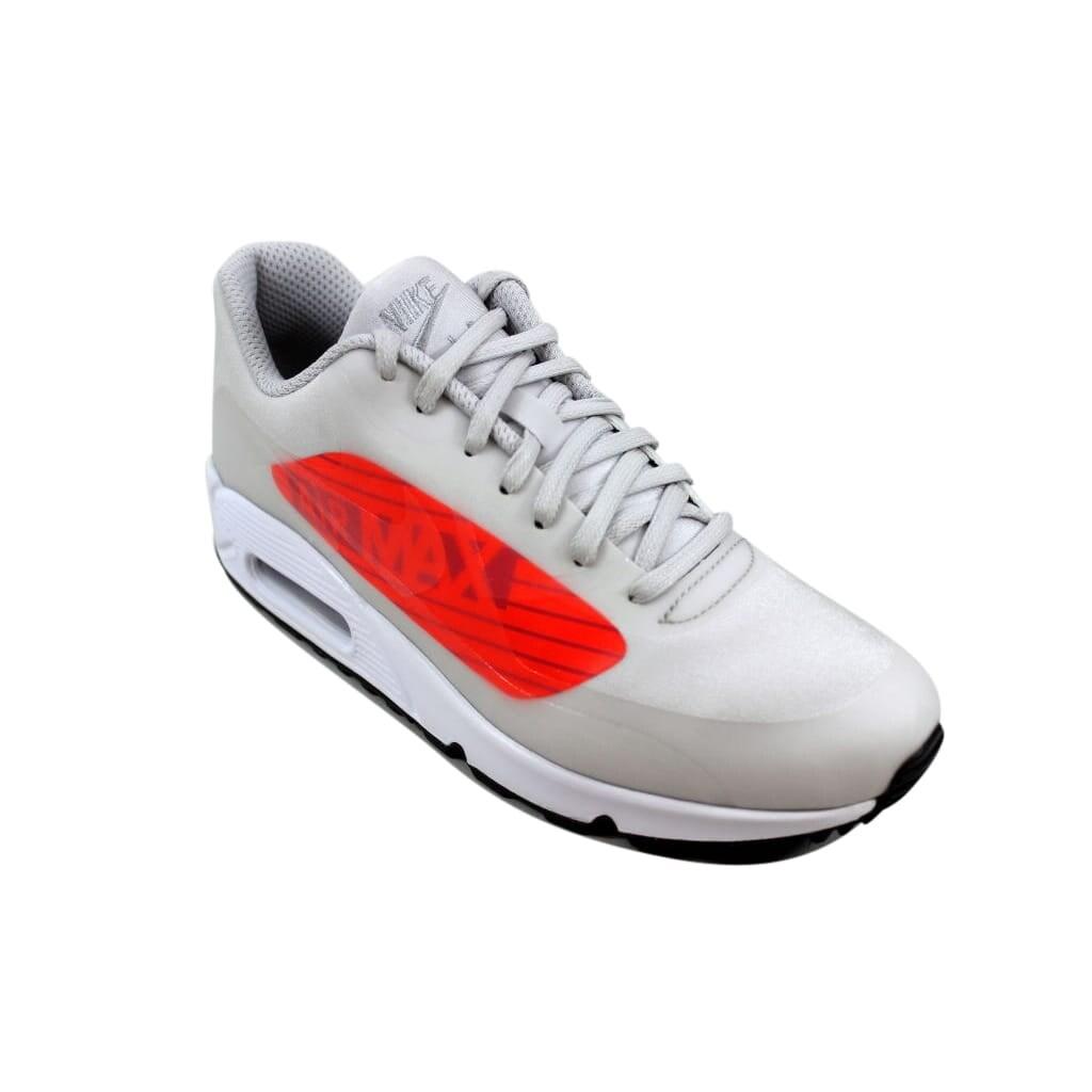 online retailer 036f4 896de Shop Nike Air Max 90 NS GPX Neutral Grey Bright Crimson Big Logo AJ7182-001  Men s - On Sale - Free Shipping Today - Overstock - 27339277