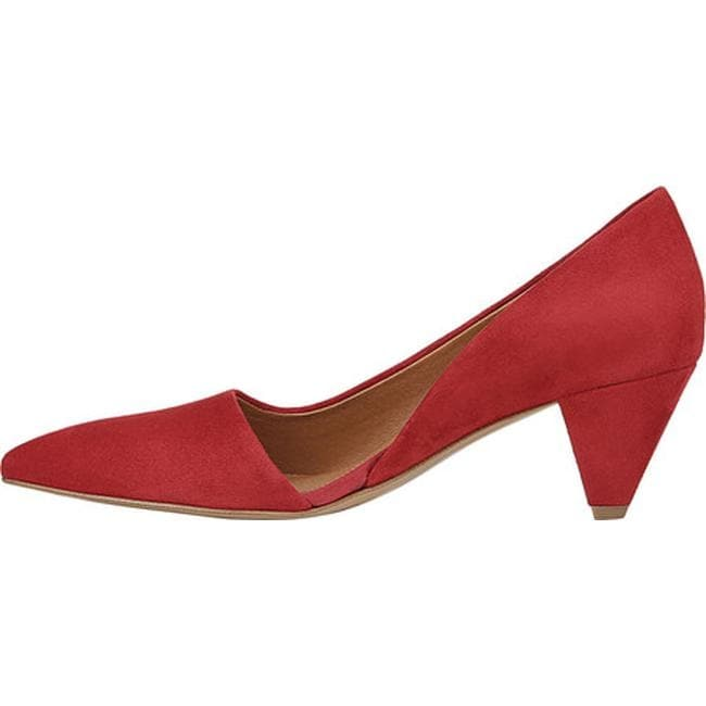 1a6bb68edff6 Shop Sarto by Franco Sarto Women s Candid D Orsay Pump Cherry Kid Suede  Leather - On Sale - Free Shipping Today - Overstock.com - 22865721