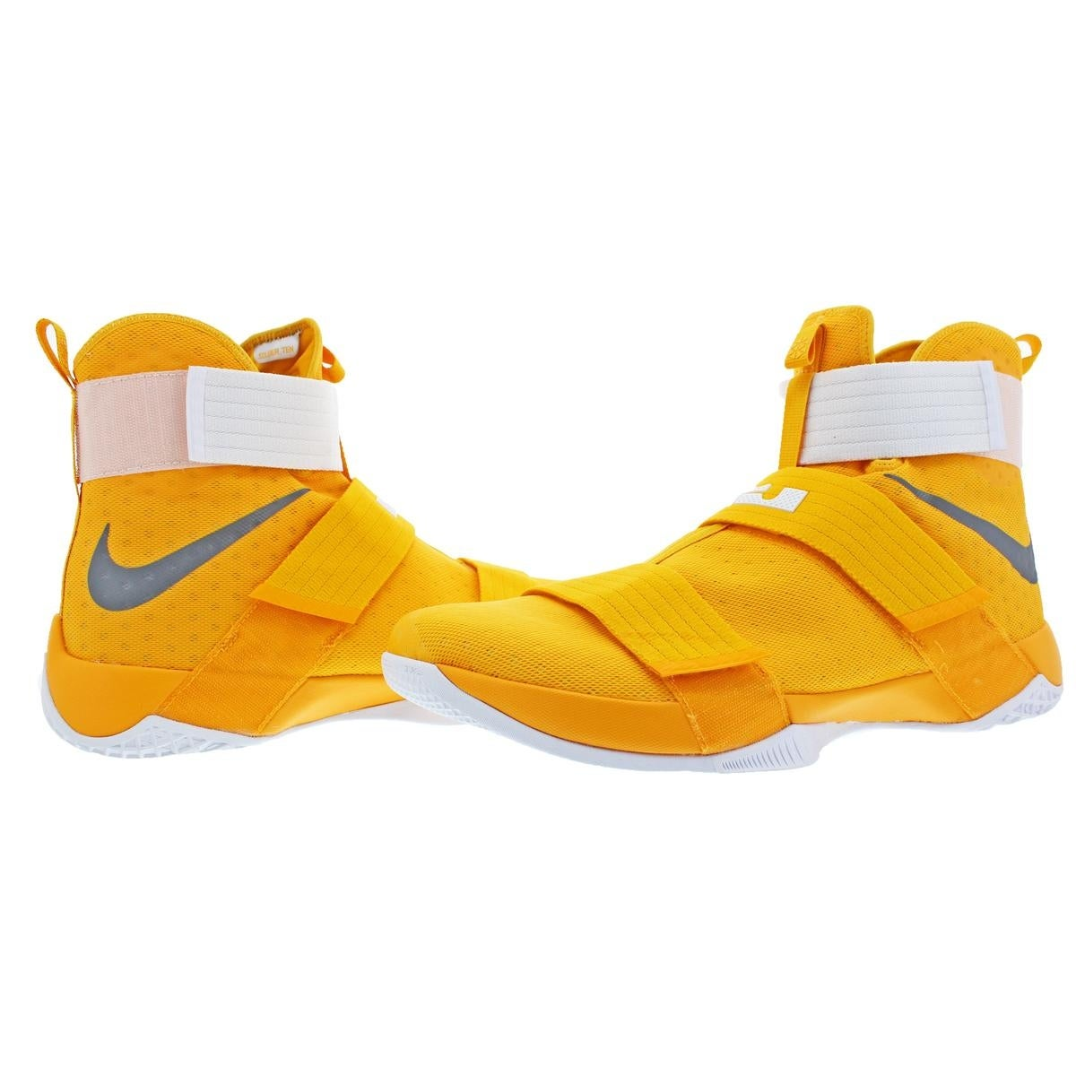 new arrival 6d95a 72d68 ... sneakers 6f3f1 95d90 low price shop nike lebron soldier 10 mens mesh  high top basketball shoes yellow size 18 ...