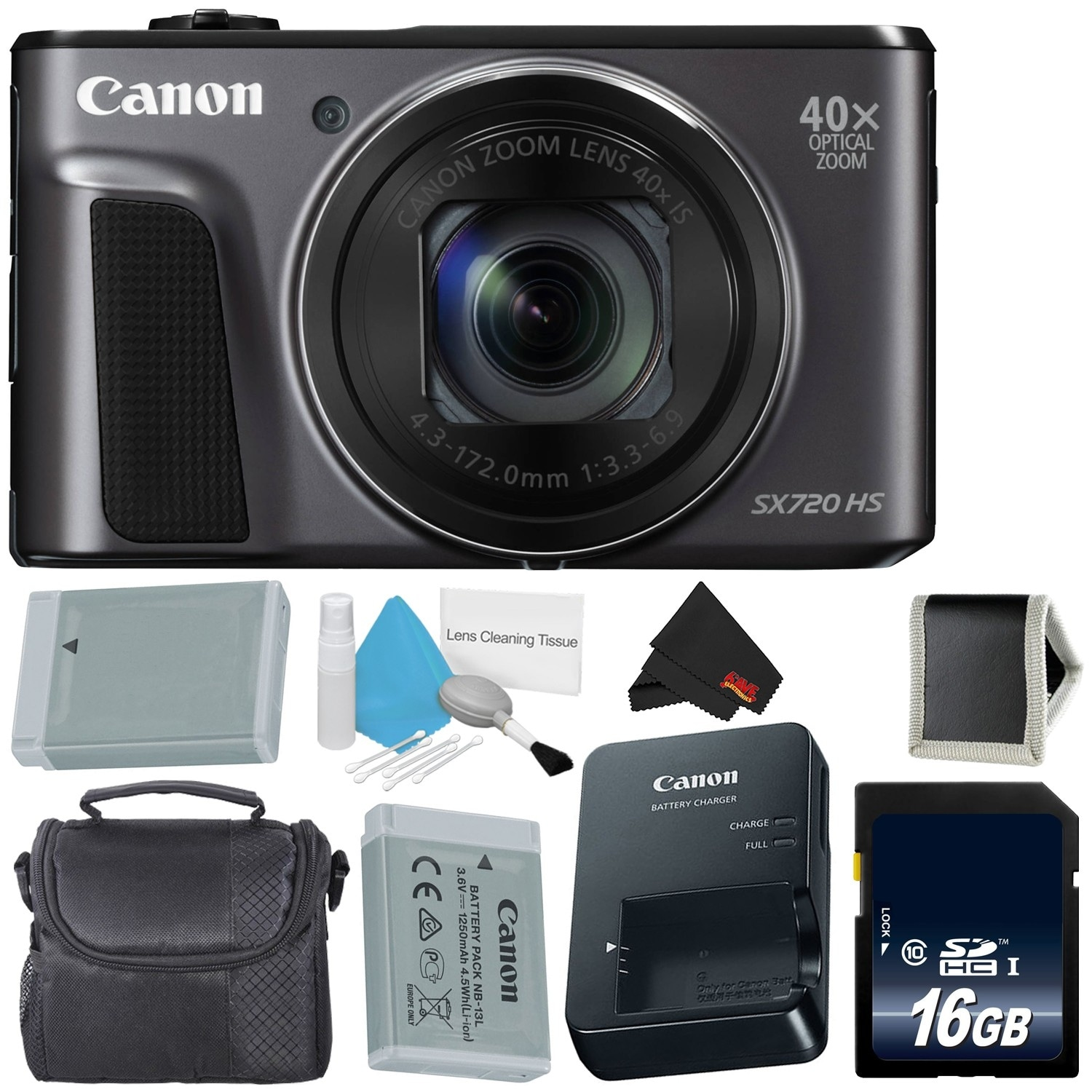 8ef485d1a Shop Canon PowerShot SX720 HS Digital Camera Bundle - Free Shipping Today -  Overstock - 21469402