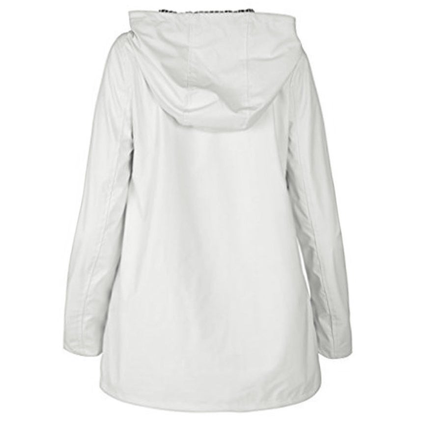 acbfc9d5eb62 Shop Urban Republic Little Girls White Light-Weight Hooded Raincoat ...