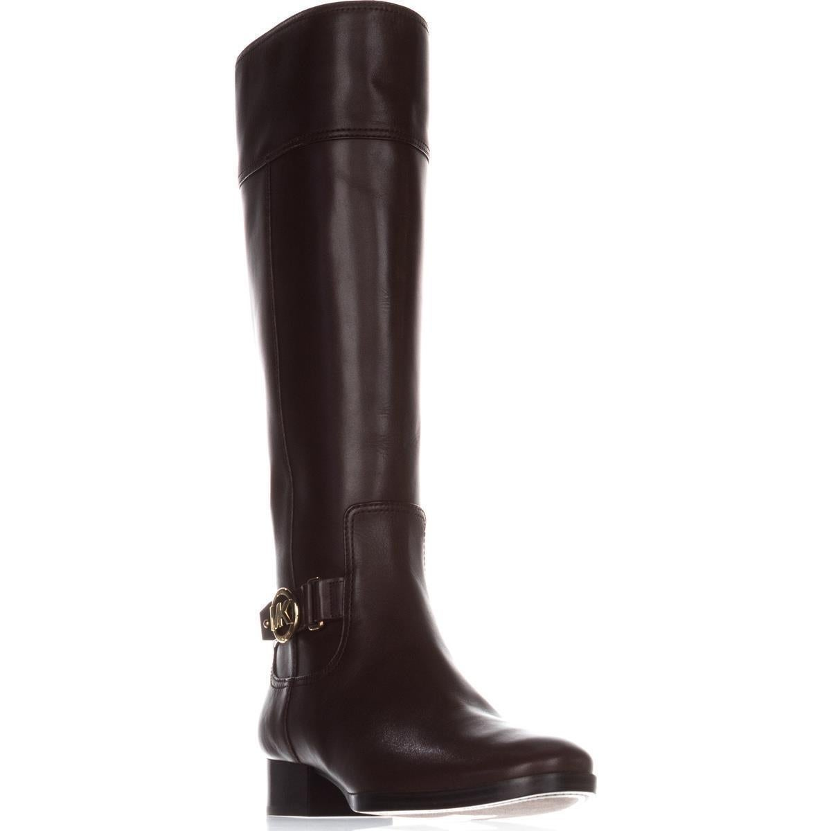 47b7ed338 Shop MICHAEL Michael Kors Harland Boot Riding Boots, Mocha - Free ...