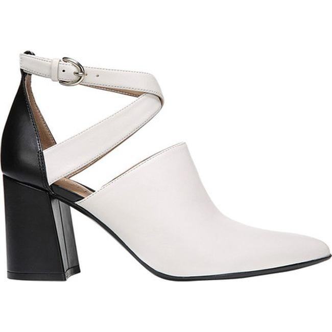 4abf4495078 Shop Naturalizer Women s Holland Ankle Strap Heel White Black  Leather Polyurethane - On Sale - Free Shipping Today - Overstock - 25687067