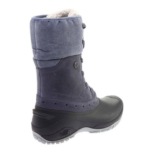 903af1b79cae2 Shop The North Face Women's Shellista Roll-Down Waterproof Boot Grisaille  Grey/Weathered Black - Free Shipping Today - Overstock - 25688164