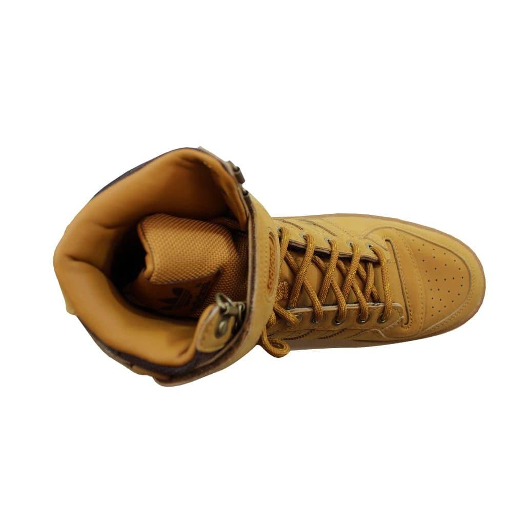 buy popular bd905 54edc Shop Adidas Mens Forum Hi OG MesaGum-Brown AQ5519 - Free Shipping Today -  Overstock - 21893371