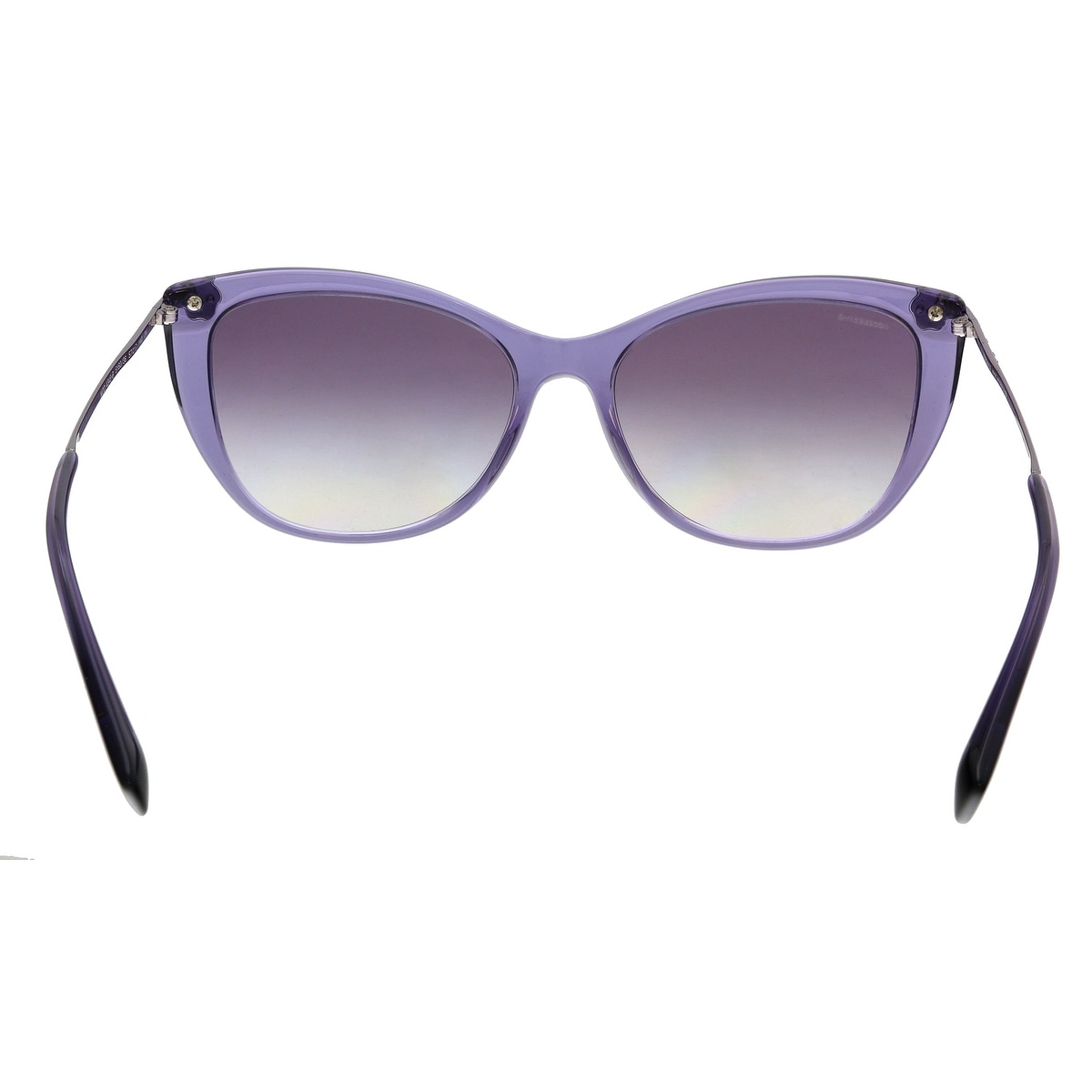 d466ea8131584 Shop Versace VE4345B 516036 Transparent Violet Cat Eye Sunglasses - No Size  - On Sale - Free Shipping Today - Overstock - 24082460