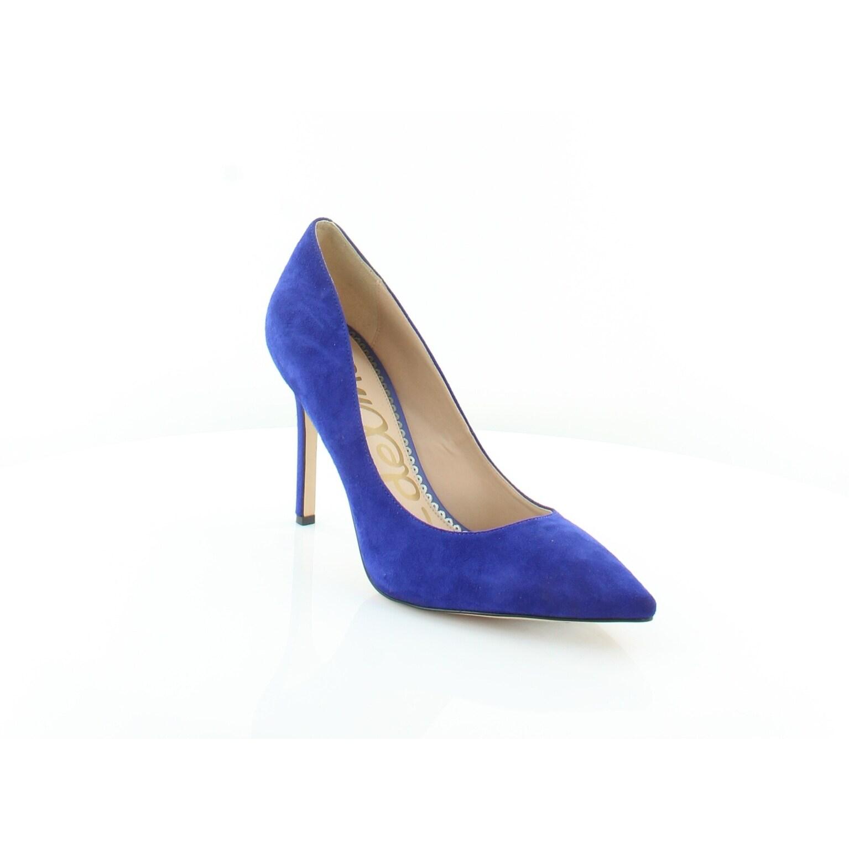 b359dd4a8ee51 Shop Sam Edelman Hazel Women s Heels Deep Blue - Free Shipping Today -  Overstock - 25582819