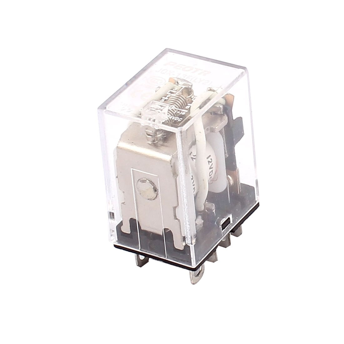 Shop Jqx 13f Dc 12v Coil 8 Pin Dpdt Power Relay Ac 220v 75a 24v Spdt 5a 10a Free Shipping On Orders Over 45 18252564