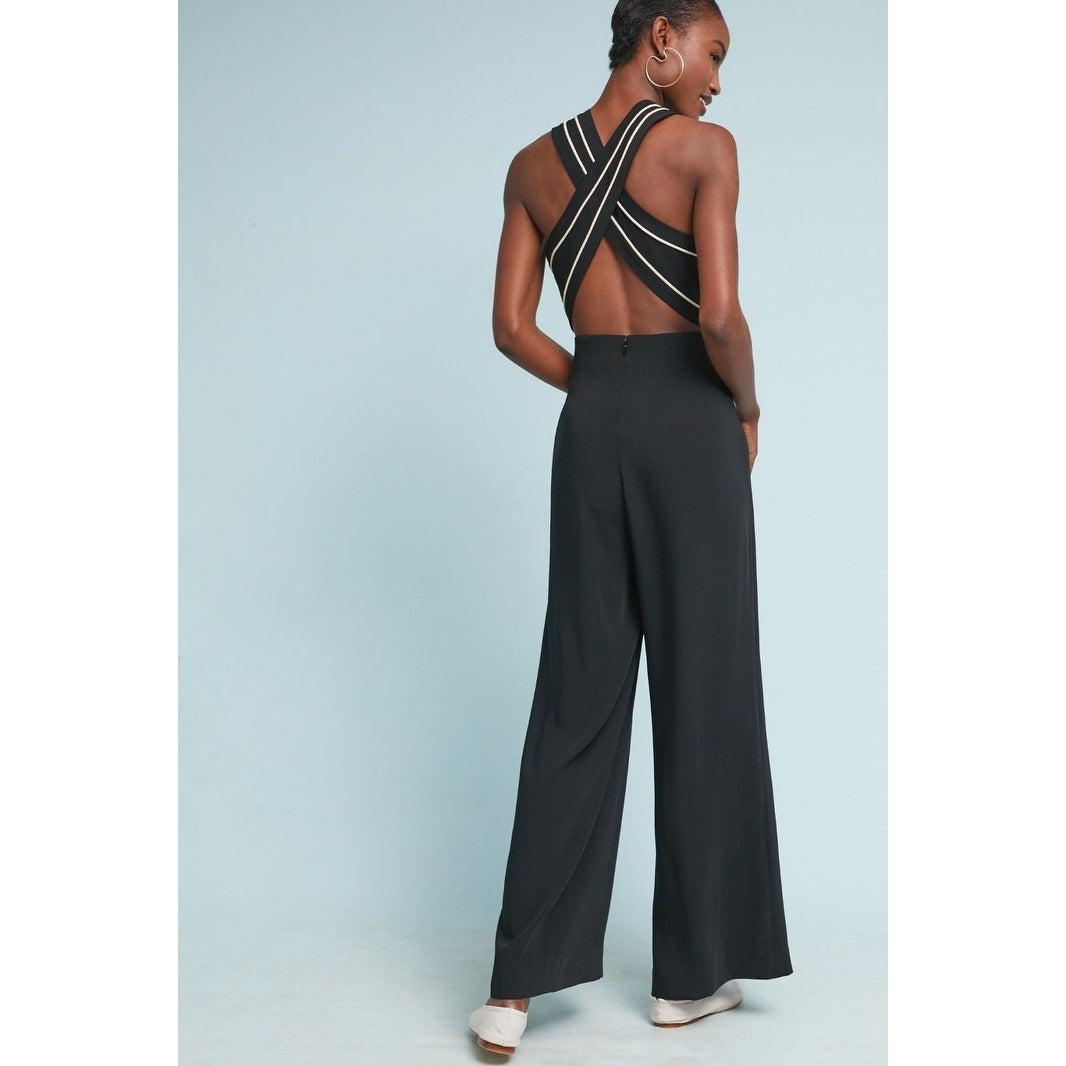c54dca242390 Shop Anthropologie Whitney Tailored Jumpsuit - 0 - Free Shipping Today -  Overstock - 25768924