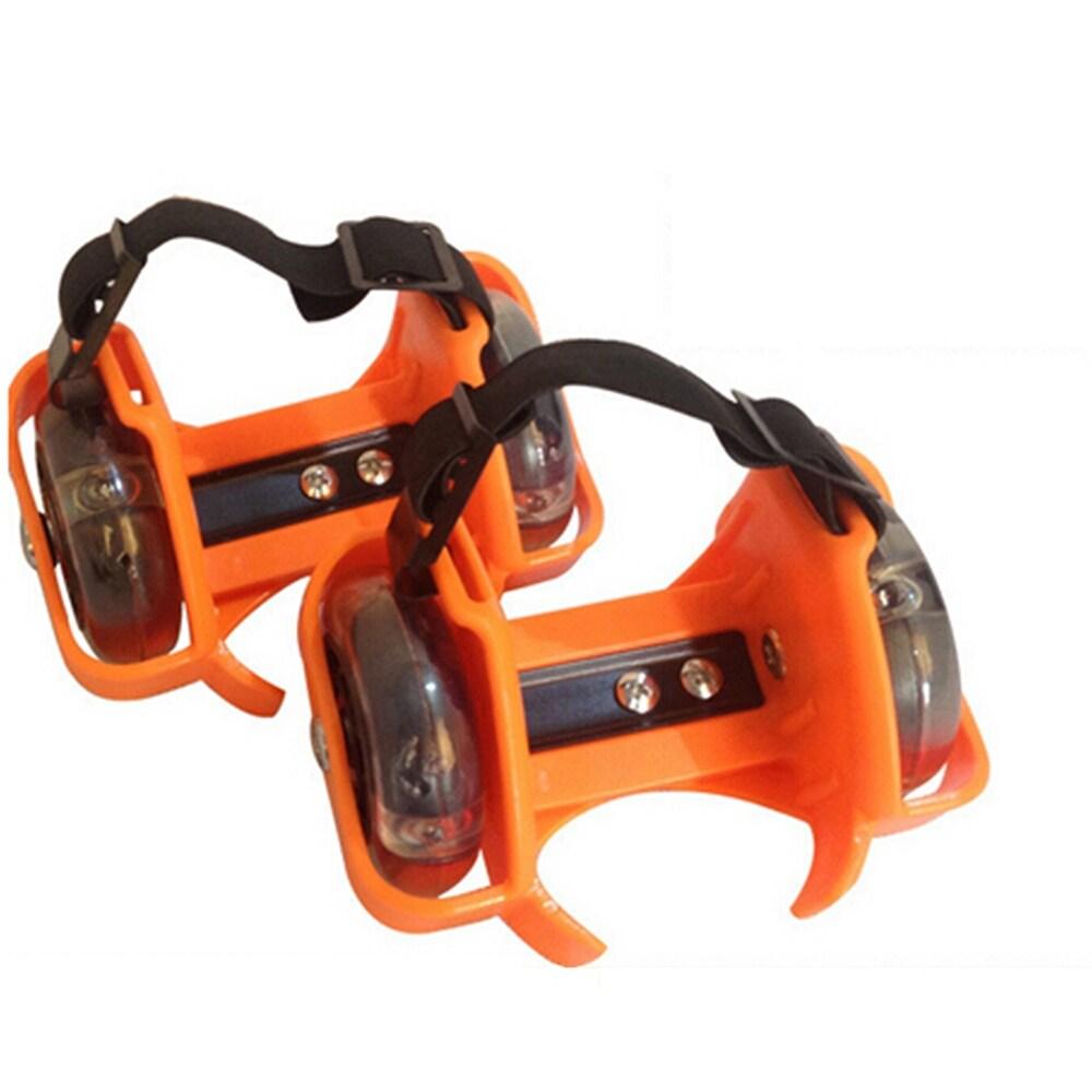 ... Termurah Berkualitas Sepatu Roda Anak. Source · Shop New Flashing Skate Heel Skates Kid Roller Blades Heels Adjust Sizes Led Light Orange Ships
