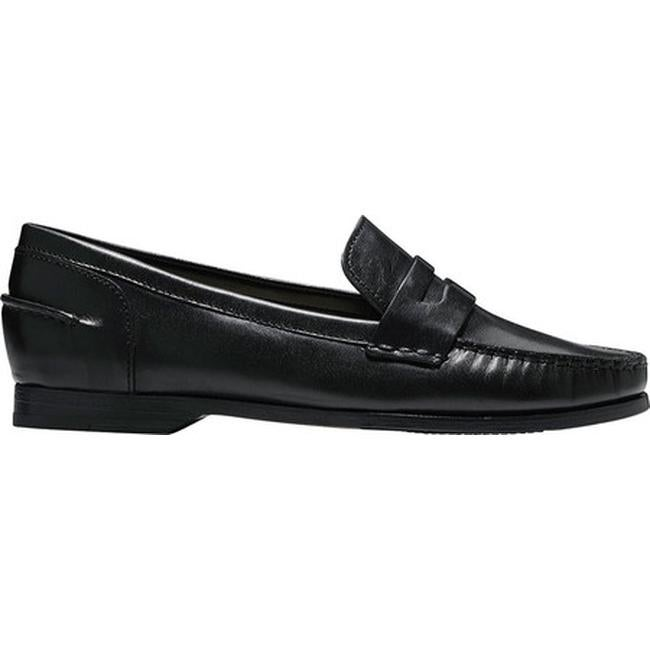 496da5020cd Shop Cole Haan Women s Pinch Grand Penny Loafer Black Leather - Free  Shipping Today - Overstock - 14549692