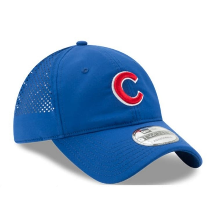 44e9f9d3b6f7e Shop New Era Chicago Cubs Baseball Cap Hat MLB PERF PIVOT 2 80470409 - Free  Shipping On Orders Over  45 - Overstock.com - 17743841