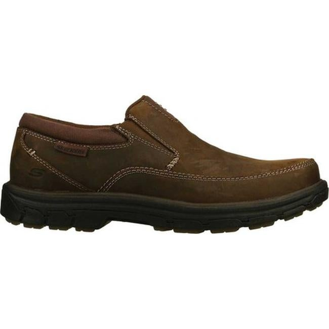49cf05a4a17 Shop Skechers Men s Relaxed Fit Segment The Search Dark Brown - On ...