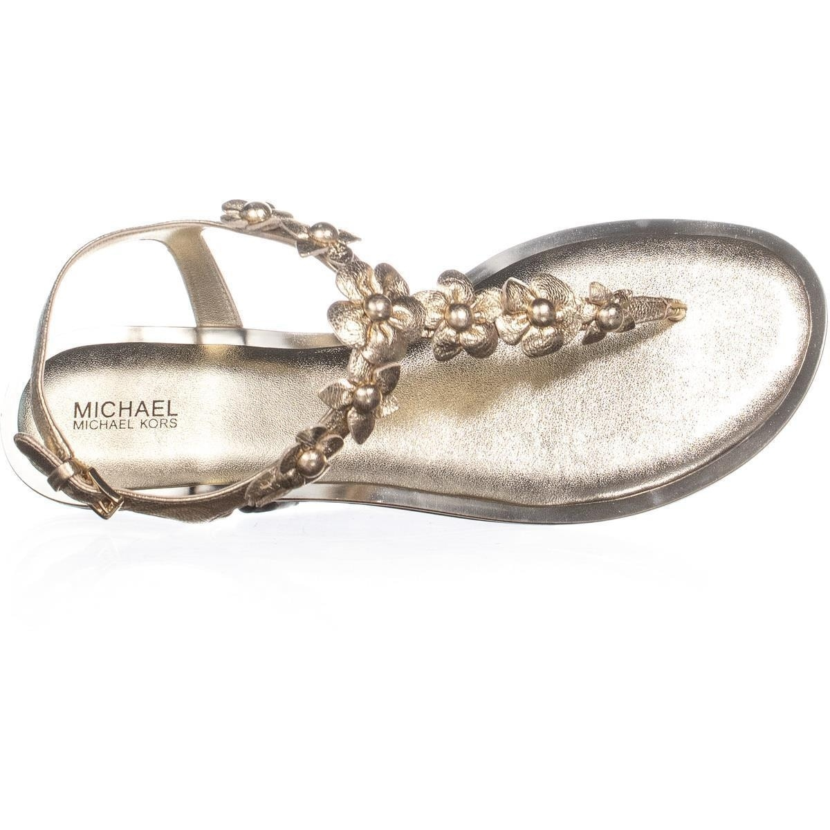 9c9ad333ae17 Shop MICHAEL Michael Kors Tricia Thong Buckle Sandals