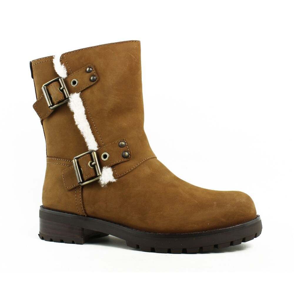 43876ca49a9 UGG Womens 1018607 Chestnut Snow Boots Size 5
