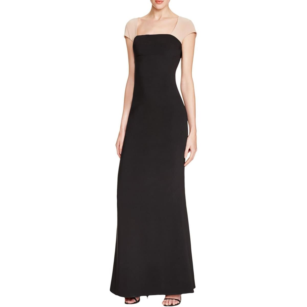 97ec118785e Shop Maria Bianca Nero Womens Evening Dress Matte Jersey Colorblock - Free  Shipping On Orders Over $45 - Overstock - 16559520