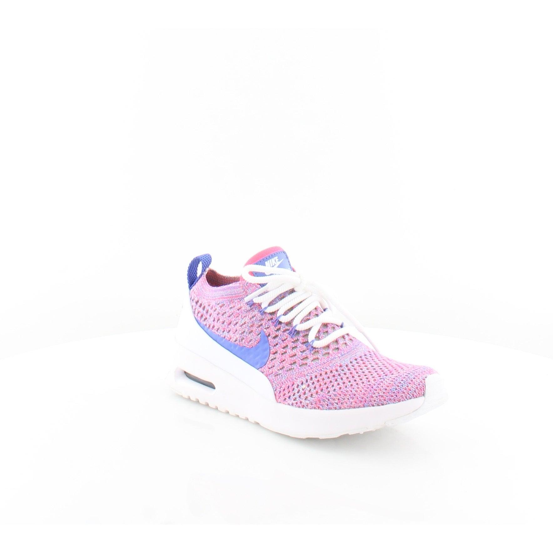 pretty nice 2809e b3e4f Nike Air Max Thea Women s Athletic White Medium Blue  Racer Pink - 6.5