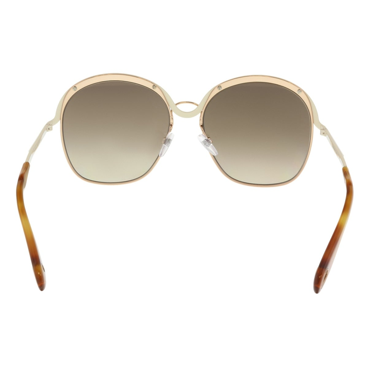 24f15c99415 Shop Givenchy GV7030S 0J1O Gold Beige Oval Sunglasses - 58-17-140 - Free  Shipping Today - Overstock - 21158338