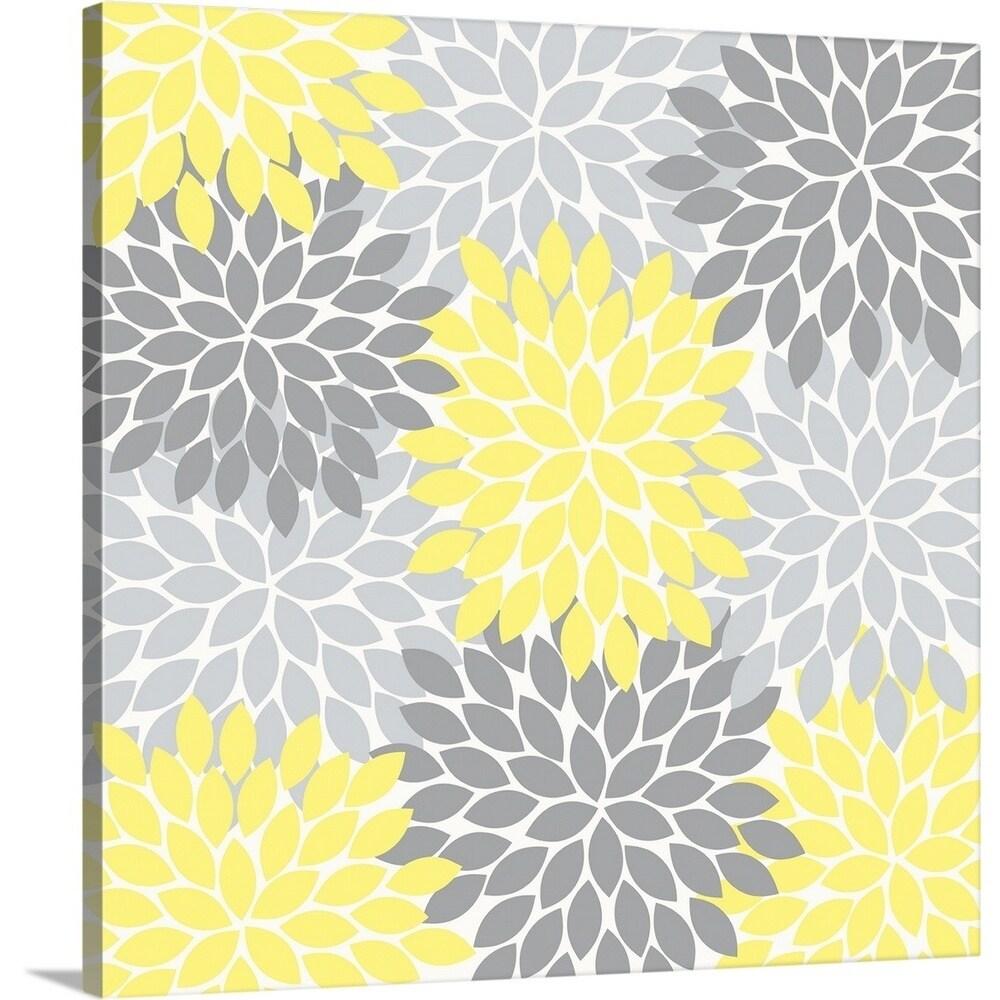 Shop Tamara Robinson Premium Thick Wrap Canvas Entitled Flower Burst