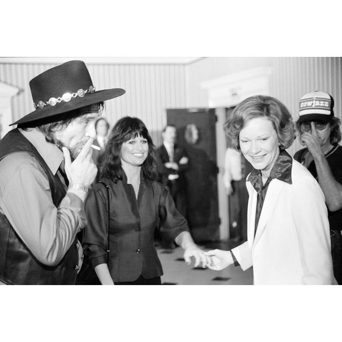 754040fd17f37 Shop First Lady Rosalynn Carter With Waylon Jennings History - Free  Shipping On Orders Over  45 - Overstock - 24346930